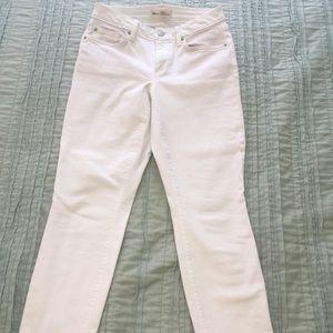 Gap Jeans - white - curvy true skinny 27R